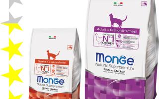 Корм для кошек Monge: отзывы, разбор состава, цена || Корм Монже для кошек